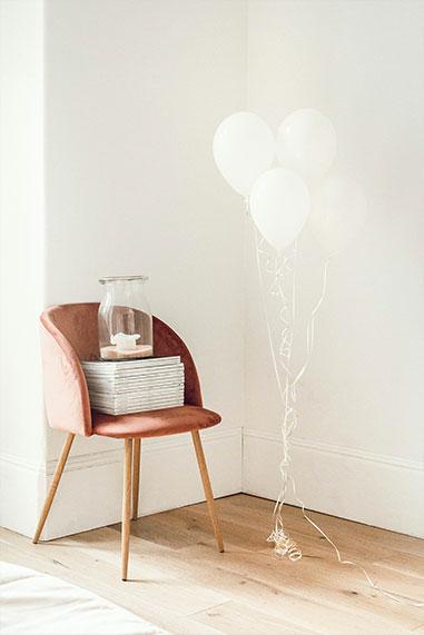 chair in studio location